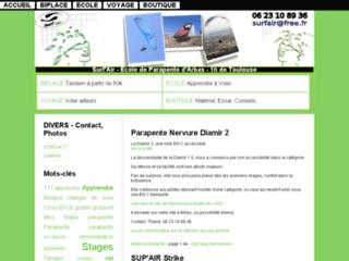 Surfair : voler en parapente dans les Pyrénées
