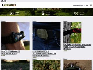 Détails : Survimax, vente de produits pour survivaliste