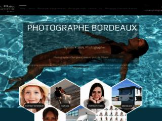 Capture du site http://www.sylvain-photographe-bordeaux.com/