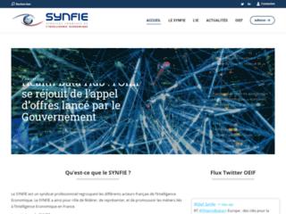 SYNFIE Syndicat Français de l'Intelligence Economique