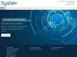 Détails : logiciel Sysfak
