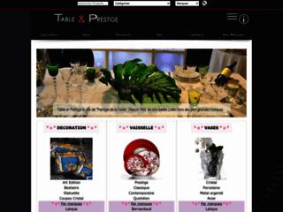 Table & Prestige : 20000 références des arts de la table, de la deco, du cadeau et du bijou