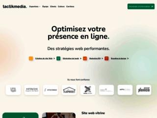 Tactikmedia: Agence Marketing Web et SEO
