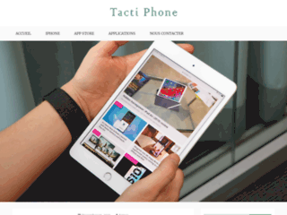 Blog Apple ; tactiphone