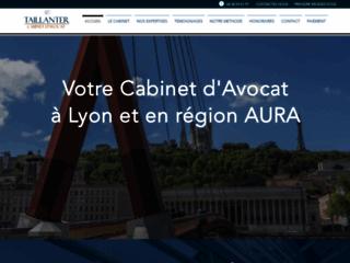 Détails : Avocat Droit du Travail Lyon - Droit social Lyon | TAILLANTER AVOCAT