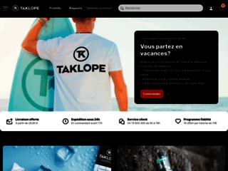 Détails : Cigarette electronique haut de gamme : Taklope