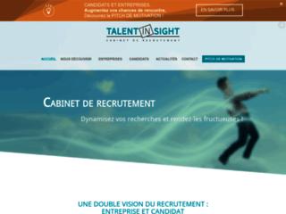 Détails : TALENT IN SIGHT - Cabinet de Conseil en Recrutement