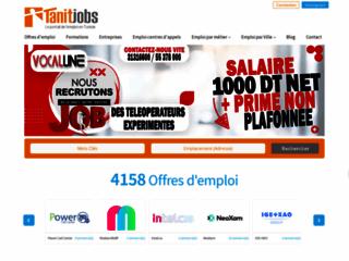 Tanitjobs.com: Travail Tunisie