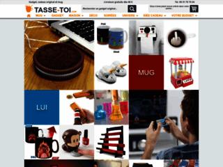 Aperçu du site Tasse-Toi