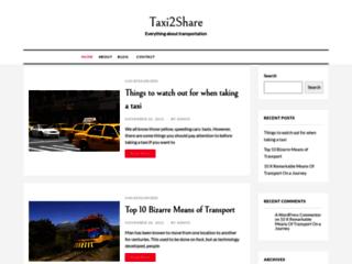 Détails : Taxi2share – Service de taxi premier partage | Taxi partagé Aéroport