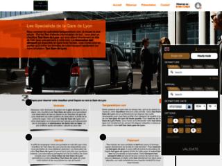 Détails : Taxi Gare de Lyon - Train suivi en temps réel