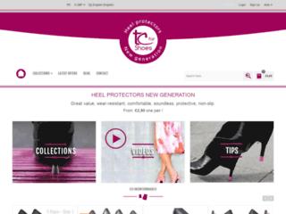 Embouts de talon glamours pour escarpins et bottes
