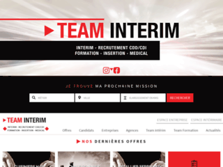 Détails : Team Interim