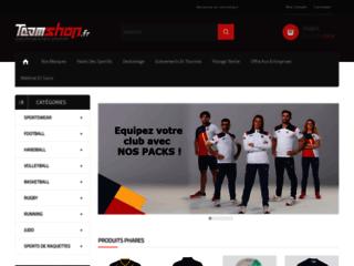 Détails : magasin de sport en ligne