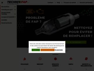 Technifap : nettoyage de filtre à particule