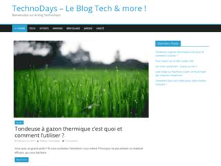 Détails : Rendez-vous sur le blog TechnoDays