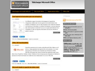 Détails : Téléchargement Microsoft Office