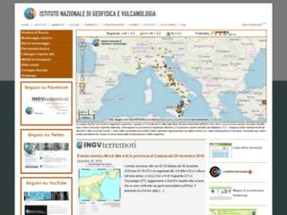 Notiziario Terremoti in Italia | Terremoti.ingv.it