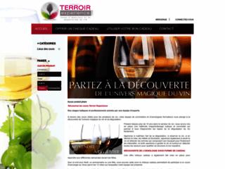 formation en vins