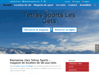 Magasin de sports les Gets location ski Les Gets
