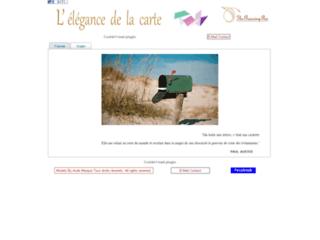 Capture du site http://theprancingpen.com