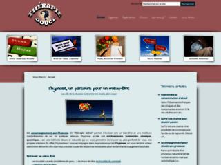 Capture du site http://www.therapie-douce.fr