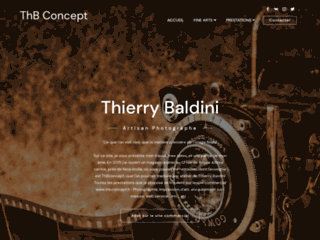 Capture du site http://thierryb.fr