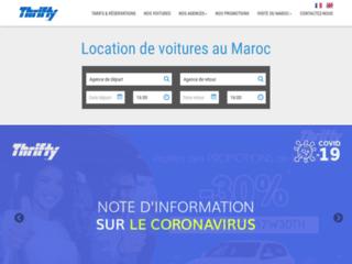 Pour une location de voiture pas chère au Maroc, rendez-vous chez Thrifty Maroc
