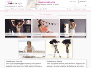 Boutique de lingerie d'allaitement