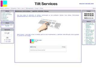 Détails : Tilt Services