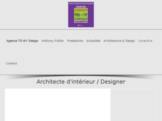 Capture du site http://www.to-nydesign.com/