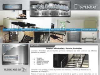 Détails : Métallerie industriel Montmélian