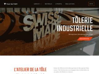 Détails : Tole Factory : Entreprise de tôlerie industrielle en Suisse