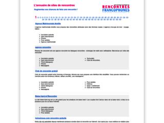 Détails : Top Rencontre - Rencontres francophones