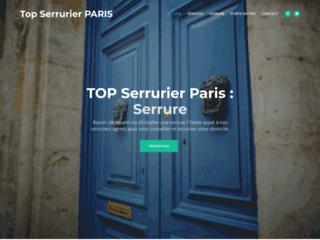 Détails : Top serrurier Paris