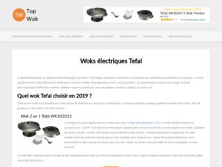 Comparatif des meilleurs woks électriques Tefal