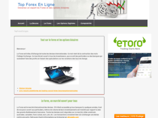 Aperçu du site Top Forex en ligne