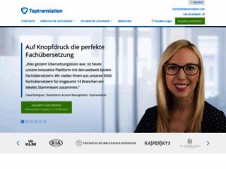 Détails : Service pour traduire des textes