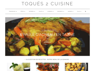 Découvrez les recettes de cuisine faciles - Toques2cuisine