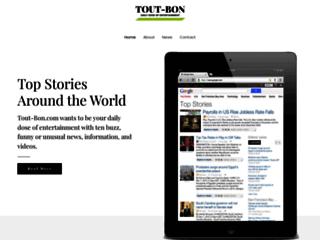 Capture du site http://www.tout-bon.com