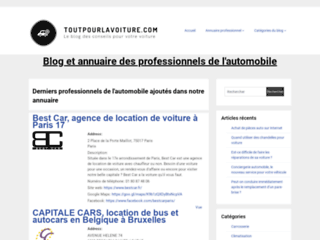 Blog de conseils pour la voiture