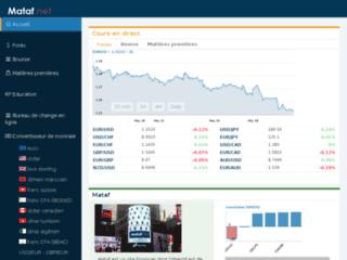 Aperçu du site Trader-Finance.fr