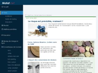 Aperçu du site Trader-Forex.fr