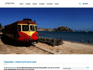 Train-Corse.com