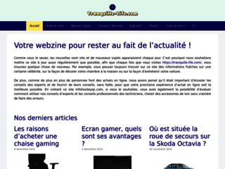 Détails : Tranquille life