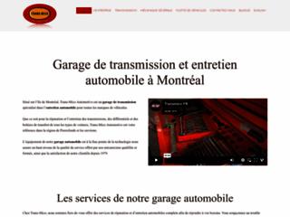 Détails : Garage recommandé CAA - Transmico