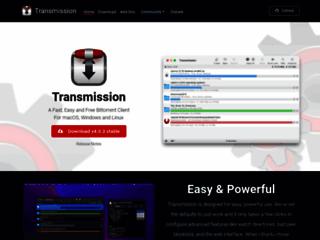 Trasmission - Client BitTorrent veloce, facile e gratuito - download