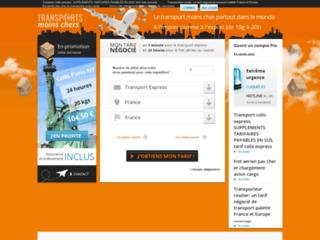 Transports internationaux, rapides, fiables, et simples en ligne
