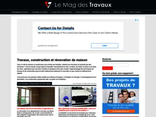 Aperçu du site Travaux & Construction