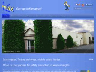 Passerelle amovible et barrières de sécurité